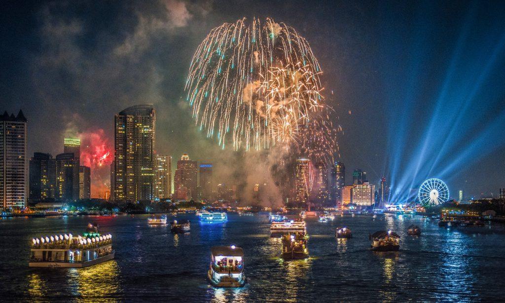 Новый год Бангкок