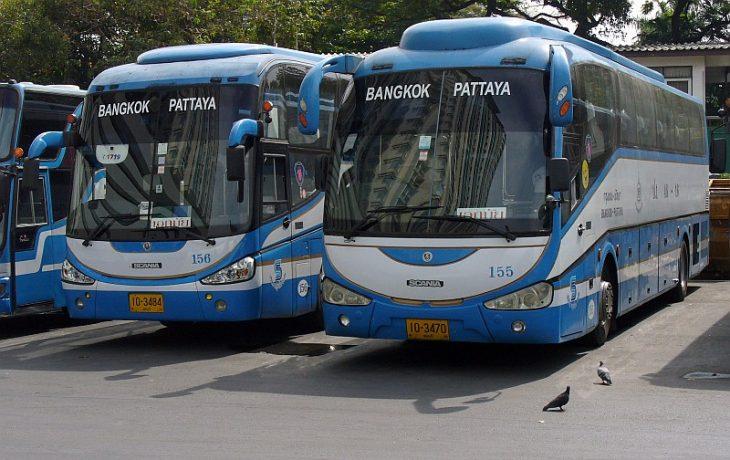 Автобус Бангкок - Паттайя