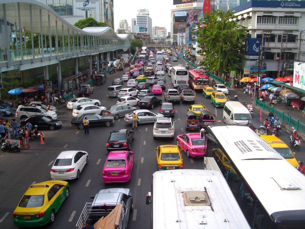 Трафик в Тайланде