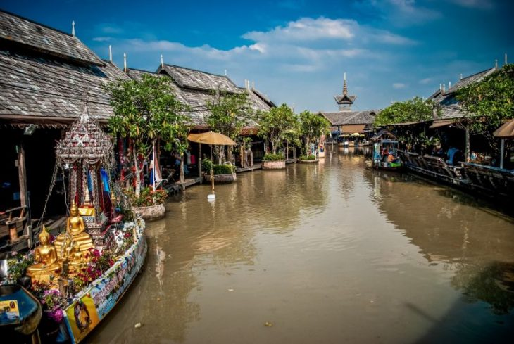 Рынок Pattaya Floating Market