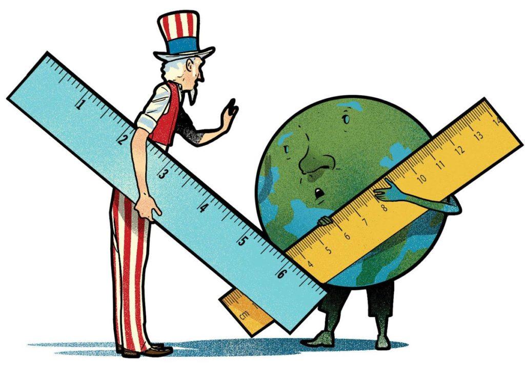 Какие сложности возникают у туристов в странах, не использующих метрическую систему
