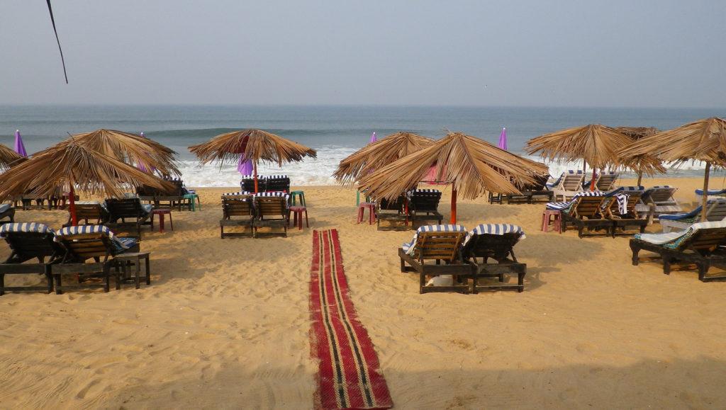 Самые спокойные пляжи в Индии для зимнего отдыха