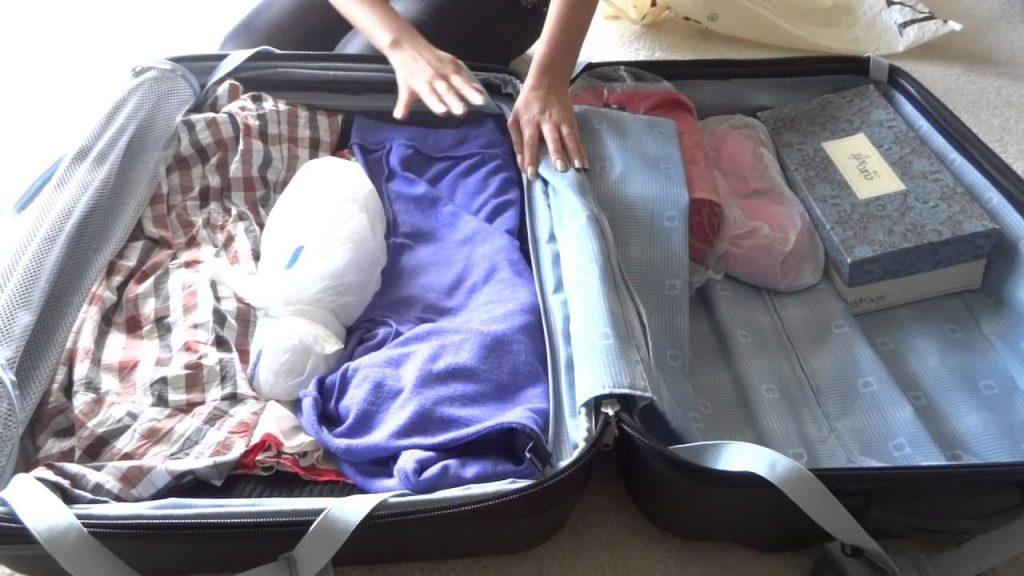 7 советов как упаковать чемодан чтобы вещи не помялись