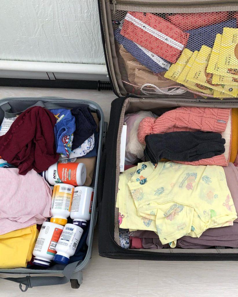 Как упаковать вещи, чтобы их больше влезло в чемодан
