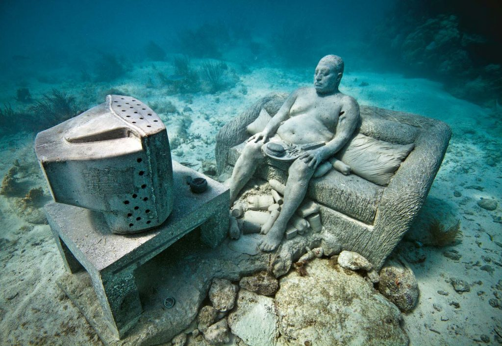 Чем знаменит подводный музей Канкуна и как в него попасть