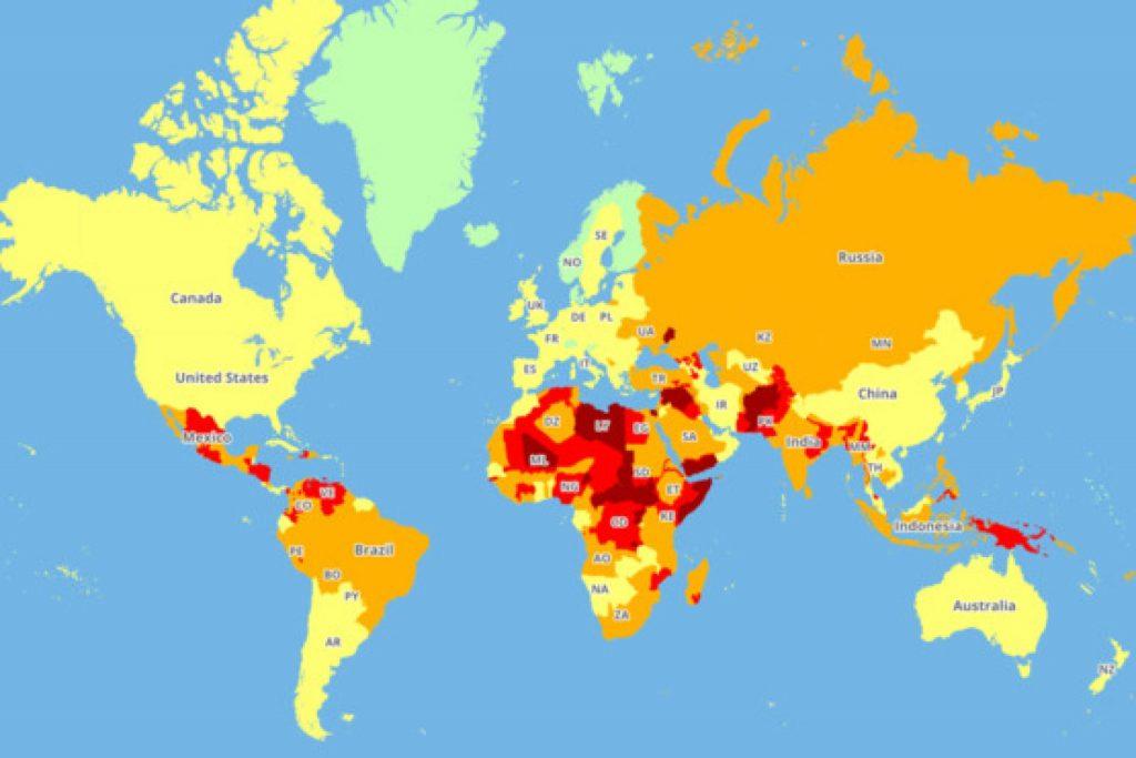 6 стран в которых туристам опасно гулять вечерами