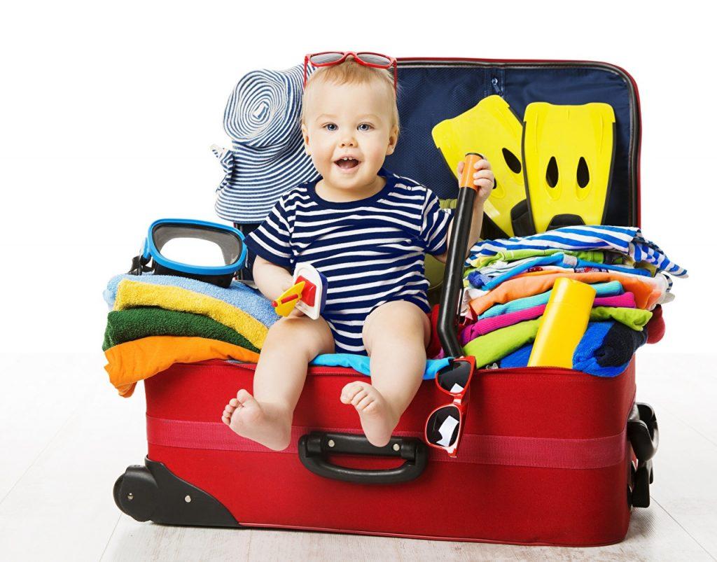 10 предметов которые нужно обязательно взять с собою на отдых с детьми