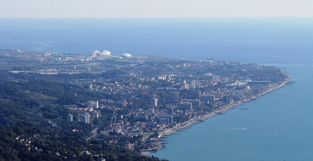 лучшие места для отдыха на российском юге