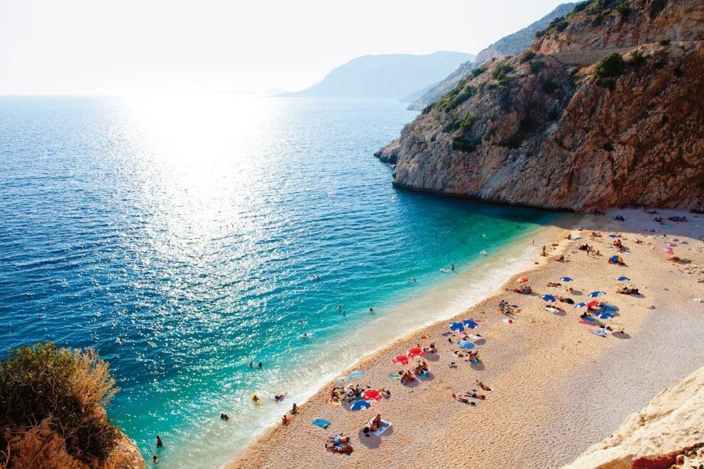 Какие пляжи в Турции больше всего любят туристы из России
