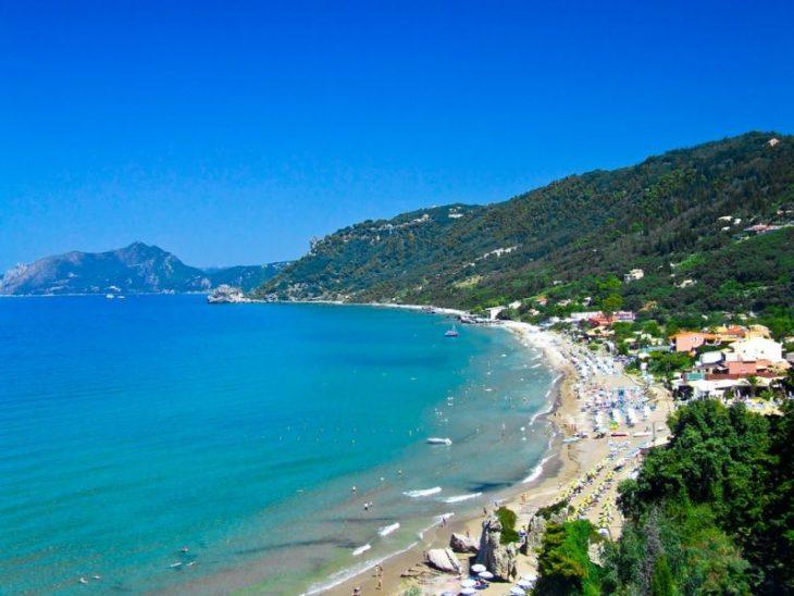 Где хорошо отдохнуть в Греции на пляже