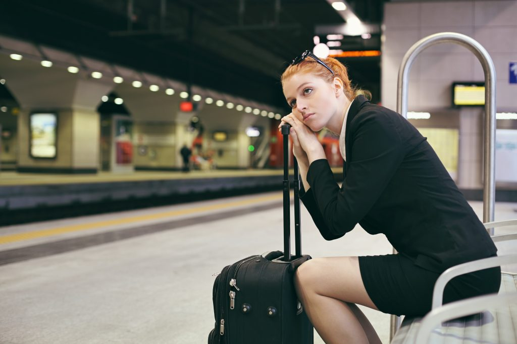 Что делать если не успеваешь на поезд вовремя