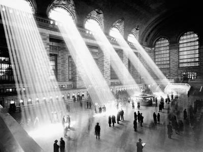 Нью-Йорк: атмосферные снимки прошлого столетия