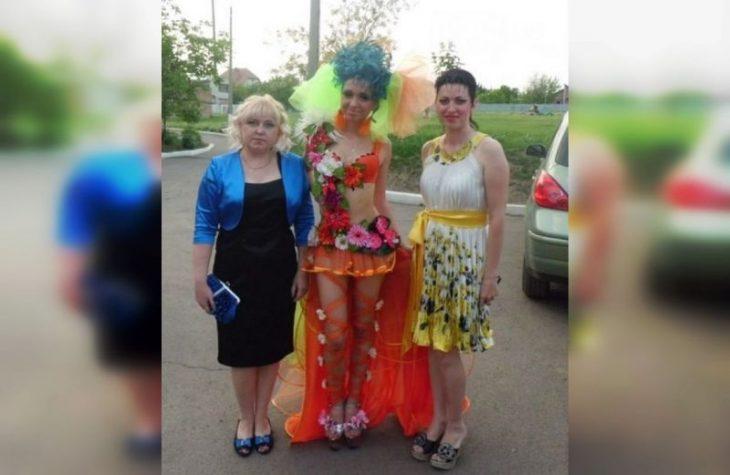 смешные выпускные платья