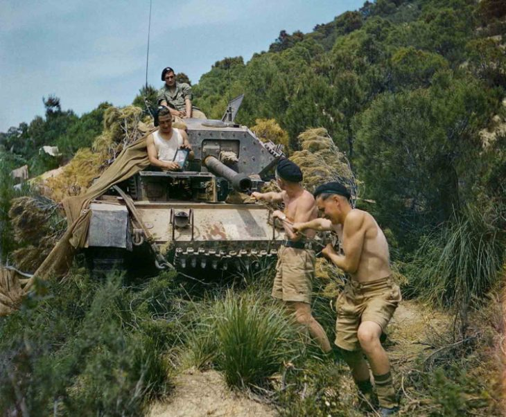 Редкие цветные фото Второй мировой войны